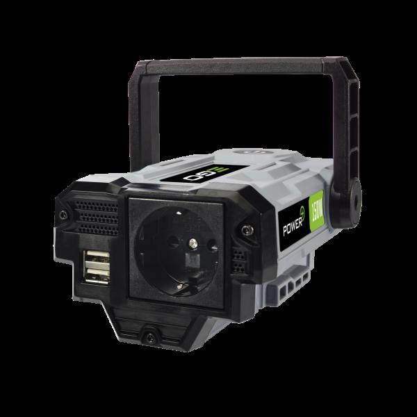 NEXUS ESCAPE 220V / 150W Inverter, 1 CEE und 2 USB Anschlüsse