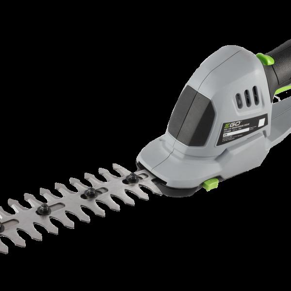12V Grasschere mit 1.5Ah Akku und Ladegerät 200mm Schnittlänge bei 8mm Zahnabstand (Heckenschneider)